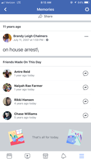 facebook update 2
